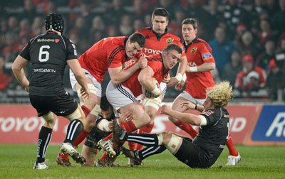 Munster draw with Ospreys at Thomond Park
