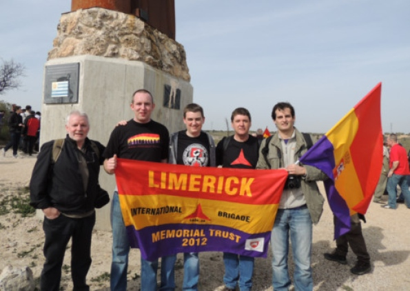 Call for council to honour Limerick men who fought fascism and Franco