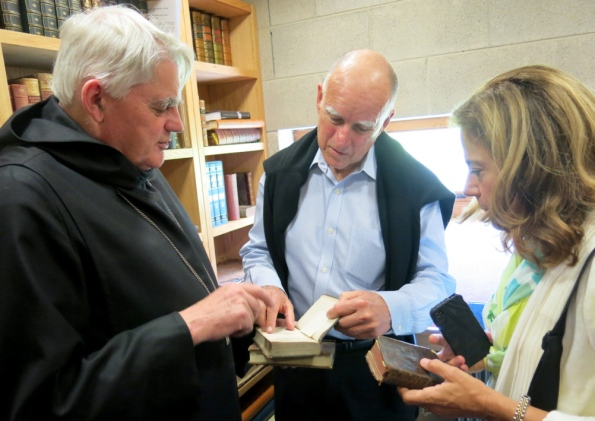 Glenstall Abbey plays host to Californian governor