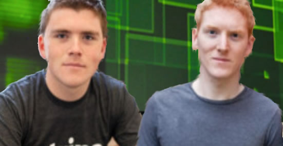 Limerick brothers John and Patrick Collison launchStripe in Ireland