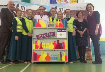 Nationwide campaign brings 'Bin It' workshop to Limerick schools