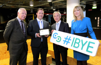 Limerick entrepreneur meets Minister Bruton ahead of IBYE Final