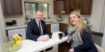 Minister opens social housing development in Clonlara