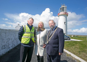Anne Doyle launches tourist season at Loop Head Lighthouse