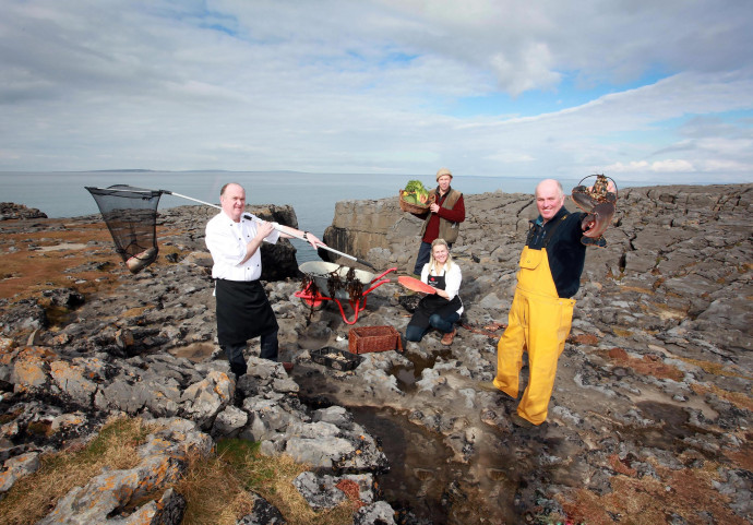 Burren food producers promote their produce