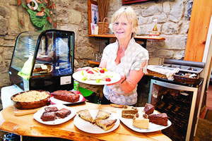 Cathleen Connole of Burren Fine Wine and Food Ballyvaughan