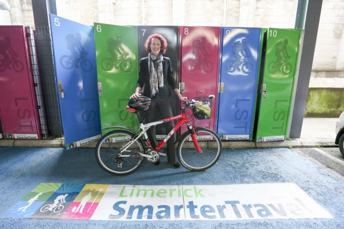 Free bike locker scheme launched in Limerick City