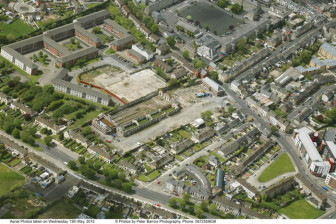 Aerial Photograph of the Tait Factor site