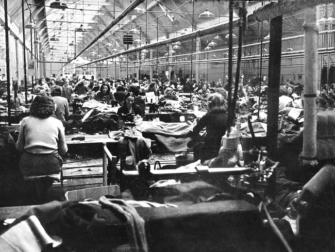 The Limerick Clothing Factory, circa 1950