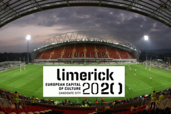 Public on the ball at Thomond Park Limerick 2020 event