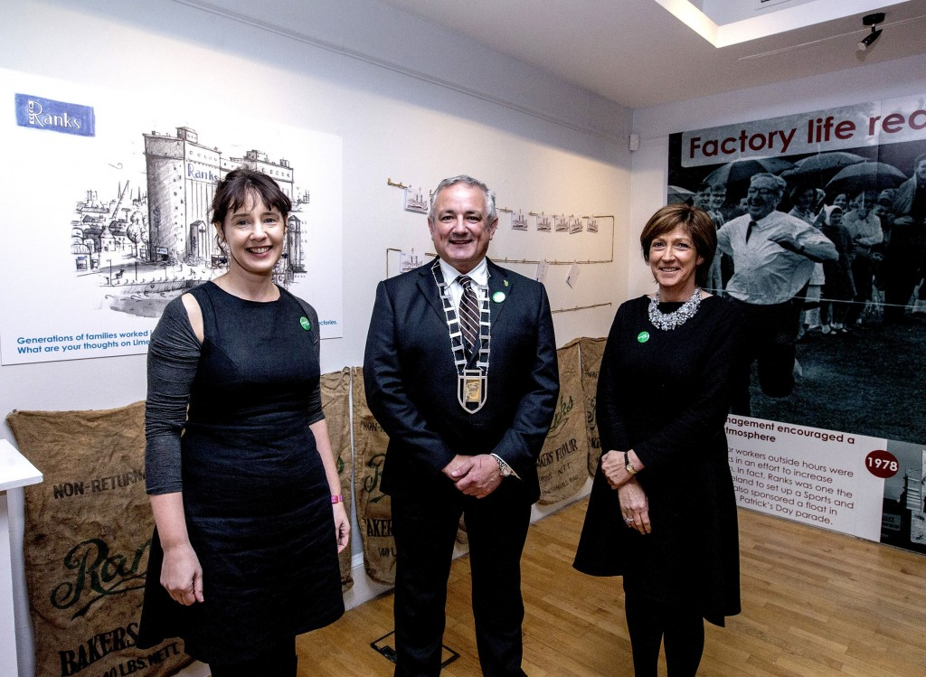 Ranks - A Limerick Industry' exhibition at the Hunt Mus
