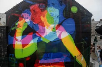 Stunning Dolores O'Riordan mural goes up in Limerick