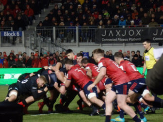 Mind the gap. Saracens: 15 – Munster: 6