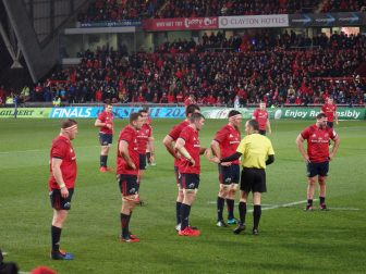 Until the final whistle… Munster: 10 – Saracens: 3
