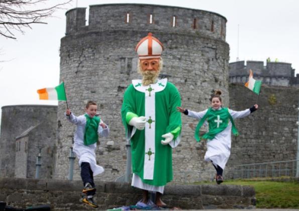 St Patrick's Day: Limerick celebrates