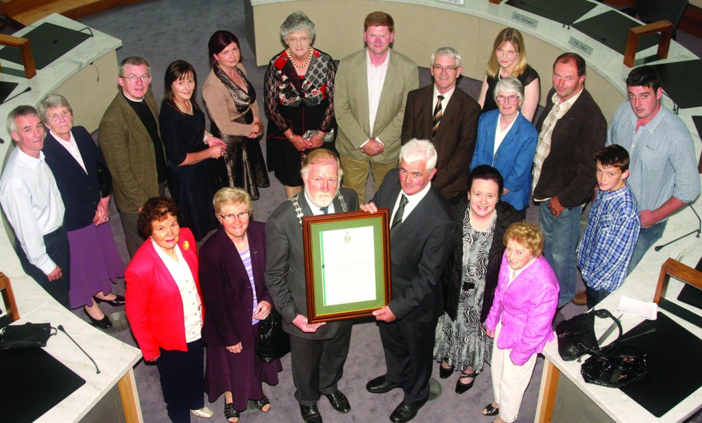 Outgoing Cathaoirleach's Reception Honours Limerick Communities