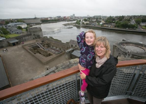 Thousands visit newly refurbished King John's Castle