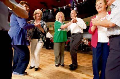 Italian Doctor Daniel Volpe has discovered that Irish dancing has a positive effect on patients suffering from Parkinson's disease