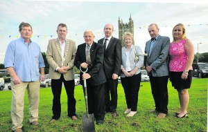 First sod turned in €240,000 sports centre in Shanagolden