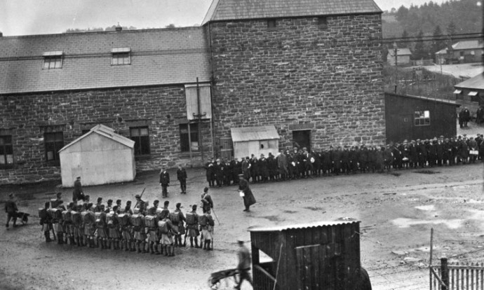 frongoch prisoner of war camp