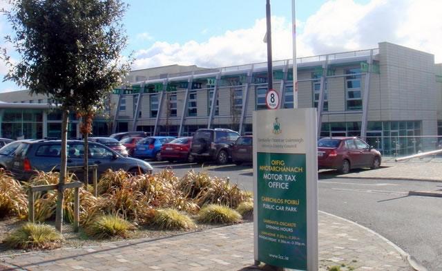 Announcement on Merchants Quay motor tax services